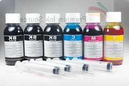 4-Color Bulk Ink Refill Kit for HP Inkjet Printer Cartridges