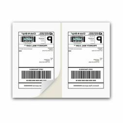 50 Self Adhesive Shipping Labels - Laser/Inkjet Printer, Pay