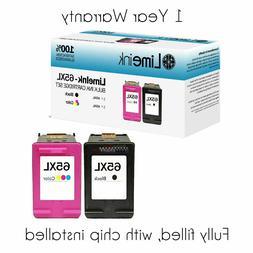 65XL Ink Cartridges for HP Deskjet 2622 2652 3722 3755 ENVY
