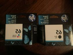 HP Genuine 63 Black + Color set of 2 Ink Cartridges