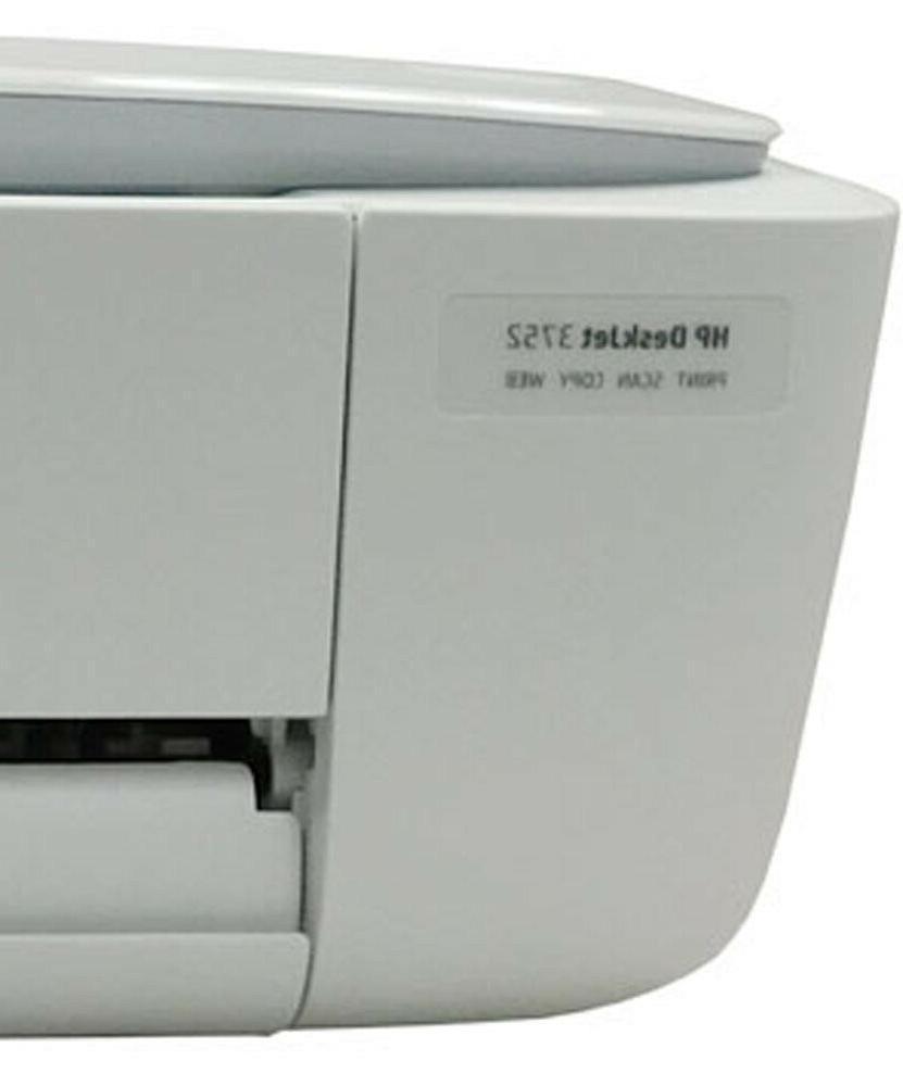 Refurbished DeskJet 3752 Wireless Printer